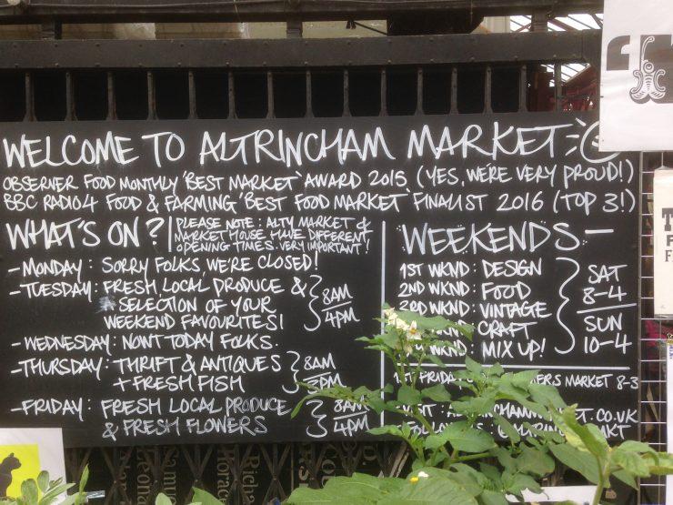 Altrincham Market and Market House